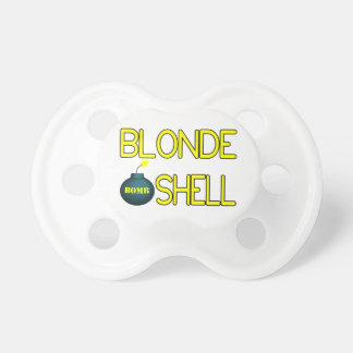 Blonde Bombshell Hottie Pacifier