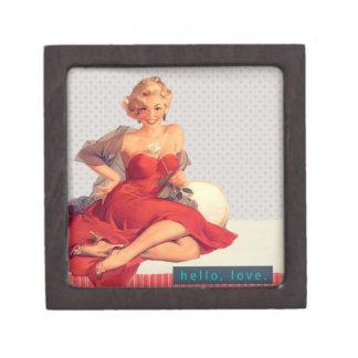 Blonde Bombshell Jewelry Box