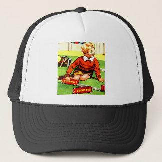 Blonde Boy Trucker Hat