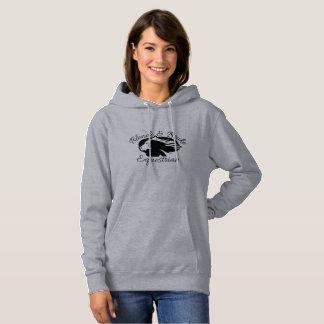 Blonde & Broke - Hoodie - Black Logo (Front Only)