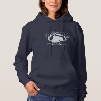 Blonde & Broke - Hoodie - White Logo (Front Only)