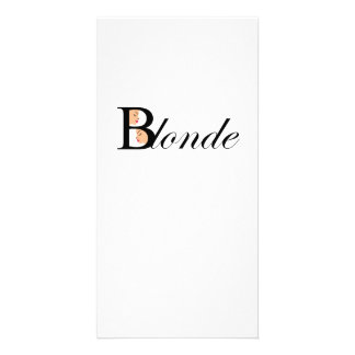 Blonde Card