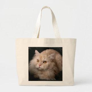Blonde Cat Tote Bags