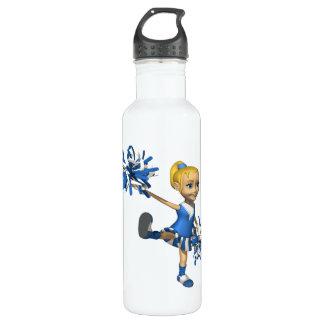 Blonde Cheerleader 2 Water Bottle