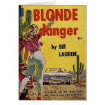 Blonde Danger Card
