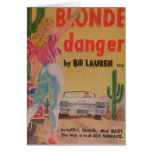 Blonde Danger postcard