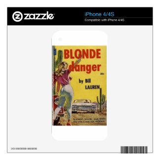 Blonde Danger Skin For The iPhone 4