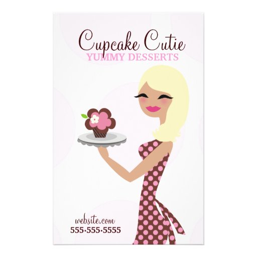 Blonde de Cutie de 311 magdalenas Flyer A Todo Color