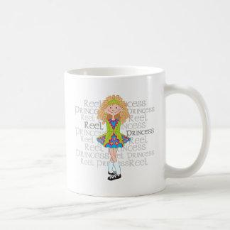 Blonde del carrete taza clásica