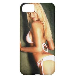 Blonde del platino funda para iPhone 5C