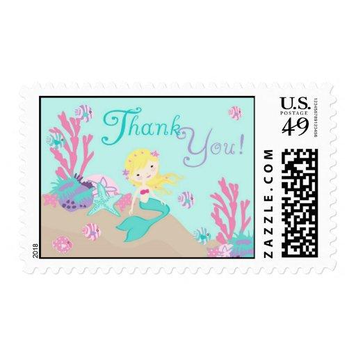 Blonde del sello de little mermaid TY