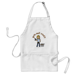 Blonde Do-It-Yourself Diva Adult Apron