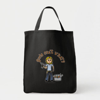 Blonde Do-It-Yourself Diva Canvas Bag