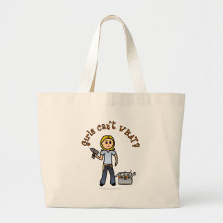 Blonde Do-It-Yourself Diva Canvas Bags