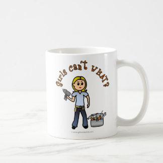 Blonde Do-It-Yourself Diva Coffee Mug