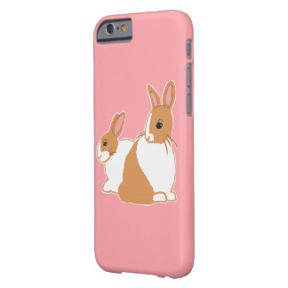 Blonde Dutch Rabbits Pink iPhone 6/6s Case