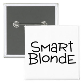 Blonde elegante pin cuadrada 5 cm