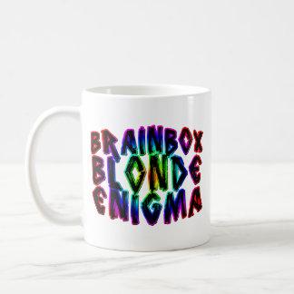 Blonde Enigma de Brainbox Tazas