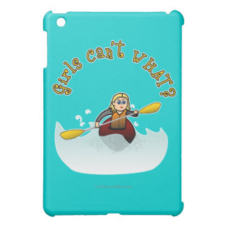 Blonde Female Kayaker iPad Mini Cover