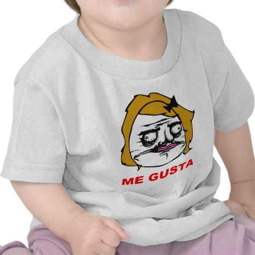 Blonde Female Me Gusta Comic Rage Face Meme T Shirts