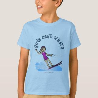 Blonde Female Water Skier T-Shirt