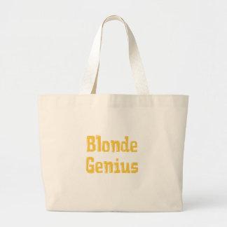 Blonde Genius Gifts Jumbo Tote Bag
