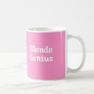 Blonde Genius Gifts Mugs