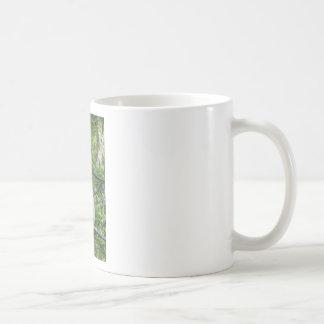Blonde Gibbon Monkey - Hylobates lar Coffee Mug