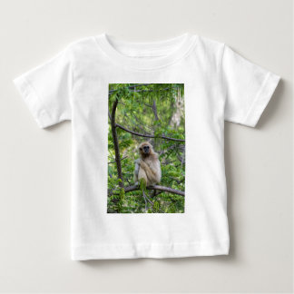 Blonde Gibbon Monkey - Hylobates lar T Shirt