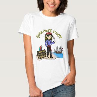 Blonde Girl Pirate Tee Shirt