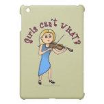 Blonde Girl Playing Violin iPad Mini Cover