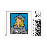 Blonde Grad Stamp