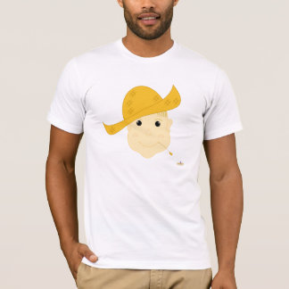 Blonde Haired Grinning Farmie Face T-Shirt