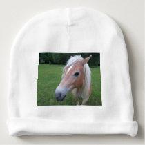 Blonde Horse Baby Beanie