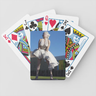 Blonde in Palm Springs Playing Cards