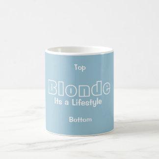 Blonde Its A Lifestyle Mug