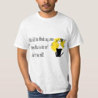 Blonde joke T-shirt