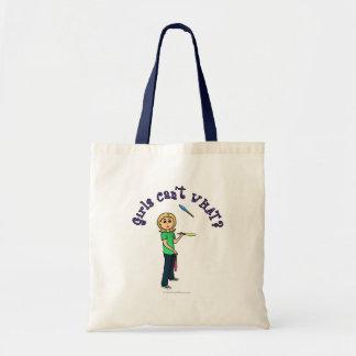 Blonde Juggler Budget Tote Bag