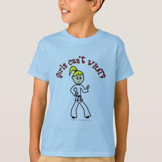 Blonde Karate Girl T-Shirt