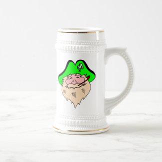 Blonde Leprechaun Beer Stein