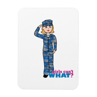 Blonde ligero de Camo de la marina de guerra Imán Flexible