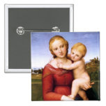 Blonde Madonna and Baby Jesus Pin