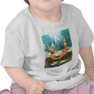 Blonde Mermaid Tshirts