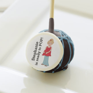 Blonde Mom Personalized Ready to Pop Cake Pops