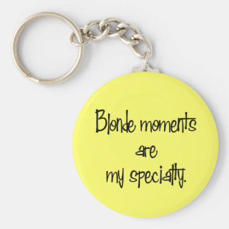 Blonde Moments Keychain