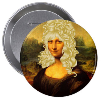Blonde Mona Lisa Pins