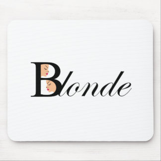 Blonde Mouse Pad