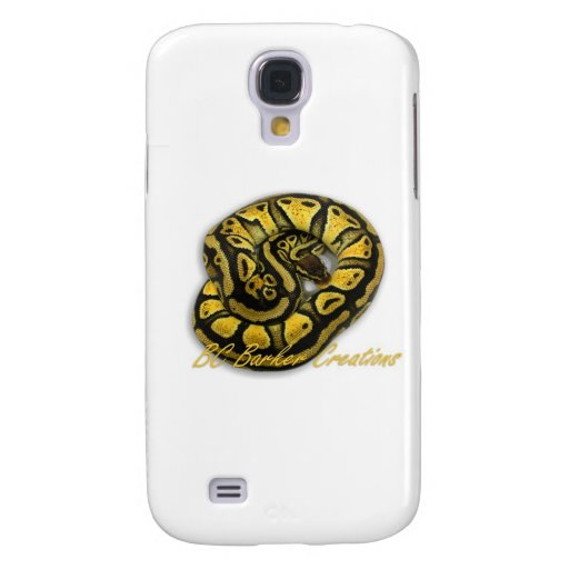 Blonde Pastel Ball Python Galaxy S4 Covers