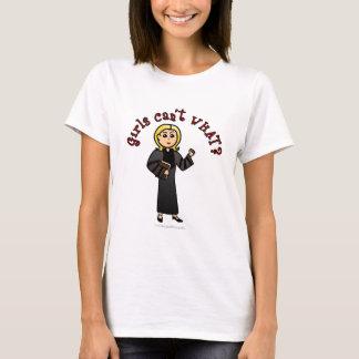 Blonde Pastor Girl T-Shirt