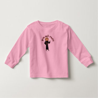 Blonde Pastor Girl Toddler T-shirt